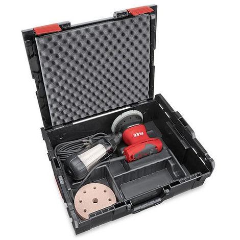Ponceuse excentrique avec régulation de régime en kit, 125 mm ORE 125-2 Set FLEX - en L-Boxx avec accessoires - 429880