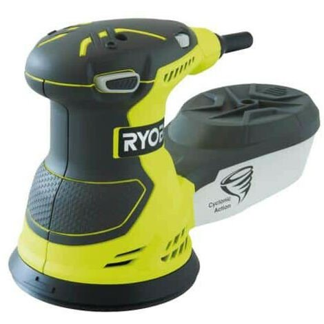 Ponceuse excentrique électrique RYOBI 300W 125mm ROS300