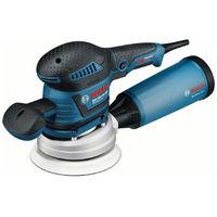 Ponceuse excentrique GEX 125-150 AVE Professional 400W plateaux Ø125 et 150mm + accessoires BOSCH 060137B102