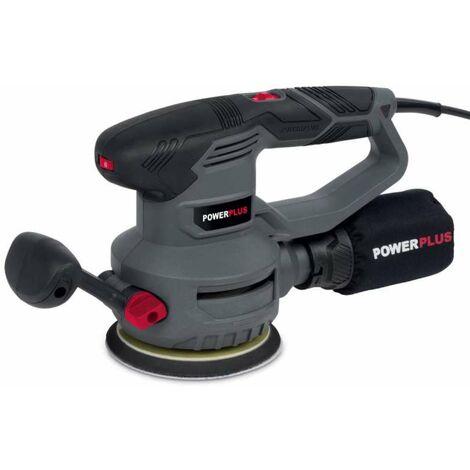Ponceuse excentrique Powerplus 450w 125mm