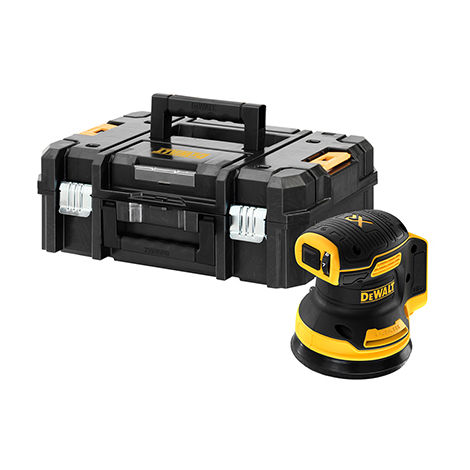 Ponceuse excentrique XR 18V 125 mm Brushless DEWALT - sans batterie ni chargeur - coffret TSTAK - DCW210NT-XJ