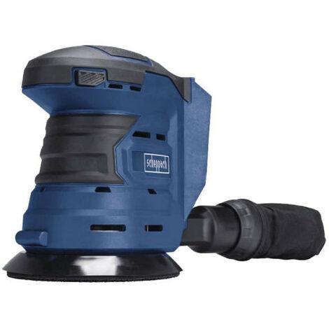 Ponceuse excentrique sans fil SCHEPPACH 20V - Sans batterie sans chargeur - COS125-20ProS