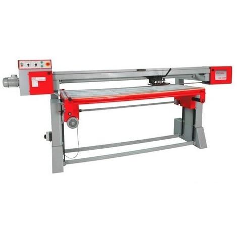 Ponceuse longue bande avec table 3000 x 825 mm 400 V - 3500 W BSM3000P - Holzmann - -