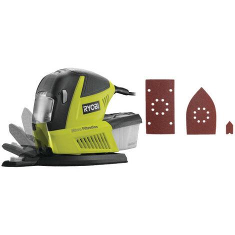 Ponceuse multifonction RYOBI 180W - 30 accessoires RMS180-SA30