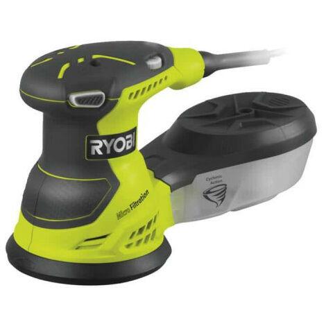 Ponceuse RYOBI excentrique électrique 310W 125mm - sac de transport - ROS310-SA20