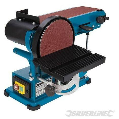 Ponceuse stationnaire à bande et à disque 390 mm, 350 W, 350 W (UK)