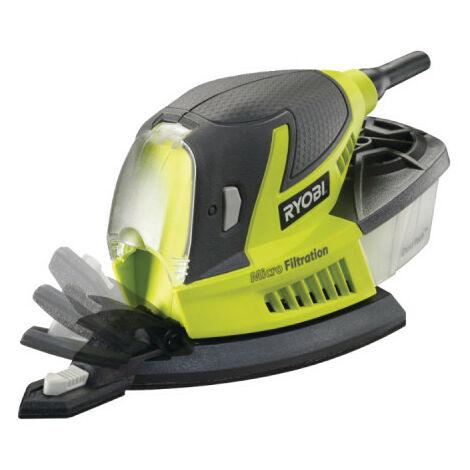 Ponceuse triangulaire RYOBI 100W - 20 abrasifs RPS100-GA20