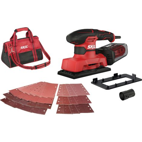 Ponceuse vibrante - 280 W - Skil - Rouge