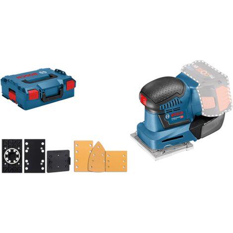 Ponceuse vibrante BOSCH GSS18 V-10 - Sans batterie, ni chargeur - 06019D0202
