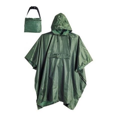Poncho impermeable verde T-Unica Industrial Starter 1510