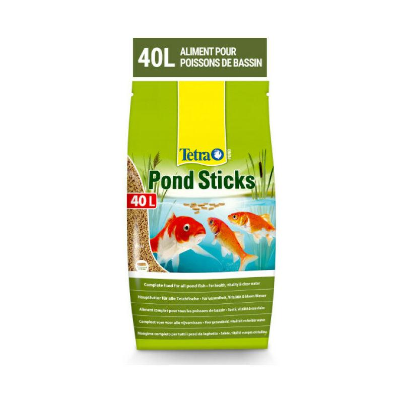 Alimentation Pond Sticks pour poissons de bassin Contenance 40 litres - Tetra