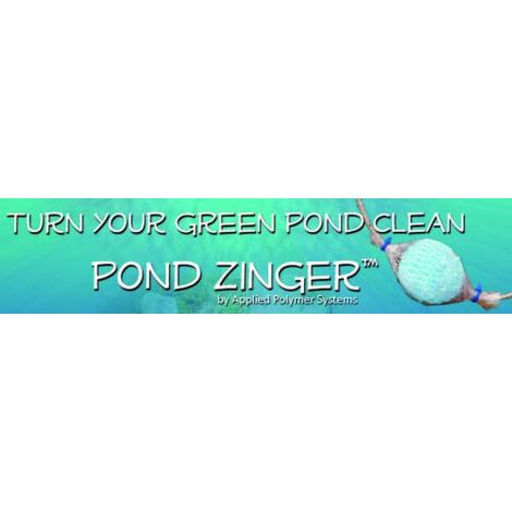 Pond support Zinger?Mini Log Mesure, Bleu, 17x 9x 7.0cm