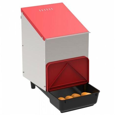 Pondoir collecteur d'oeufs en plastique 1 compartiment pour poulailler
