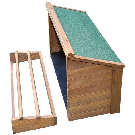 Pondoir en bois pour abri Fortuna