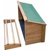 Pondoir pour abri en bois Galep