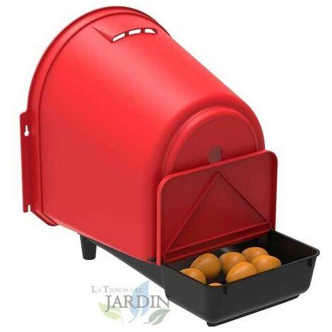 Ponedero gallinas exterior 37x46x45 cm, modelo confort