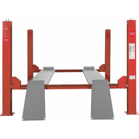 Pont élévateur 4 colonnes 4 T hydraulique 220V MW-Tools HB440M