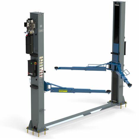 Pont élévateur 4 tonnes à deux colonnes à déverrouillage automatique des bras - TOPCAR P2C4PRM