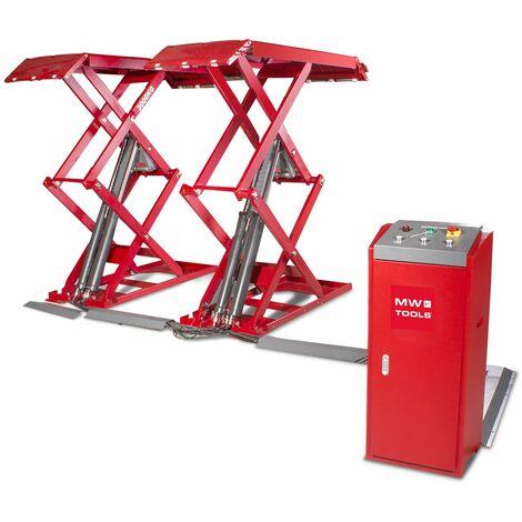 Pont élévateur à ciseaux 3T hauteur de levage 1850 mm 220V MW-Tools SL300UM