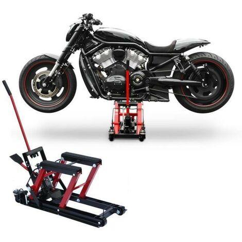 Pont Elevateur Pour Moto, Quad, Scooter, Tracteur De Maximum 680 kg - Rouge