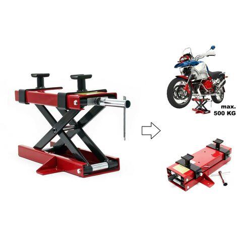 Pont léve moto / Plateforme élevatrice max 500 kg
