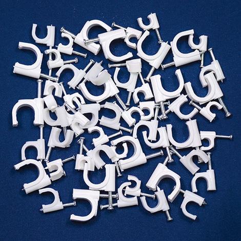 Pontet plastique 6mm (sachet de 100 unités)