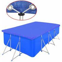 Pool Cover PE Rectangular 90 g/sqm 394 x 207 cm