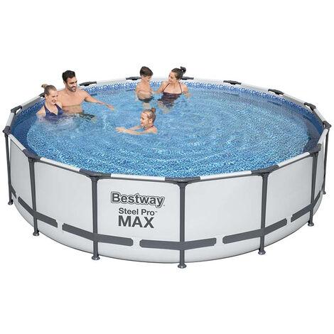 Pool / Frame Pool Bestway Steel Pro Max Komplett-Set - Ø 457x107cm