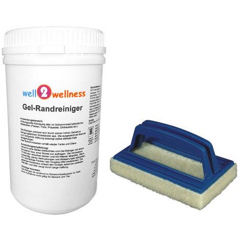 Pool GEL-Randreiniger 1,0 kg plus Reinigungspad