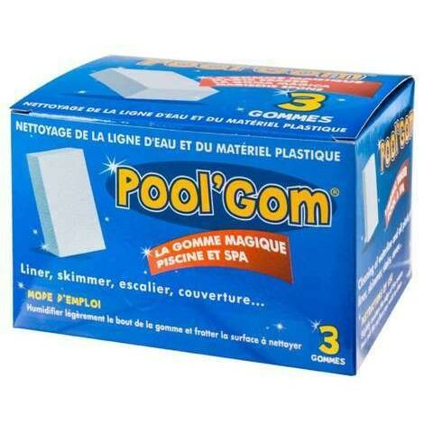 Pool Gom pool water line cleaning