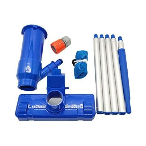 Pool Maintenance Kit Vaccum Pool Cleaner, Pool Maintenance, Pond, Fountain, Leaves, Sand, Silt 4.8 out of 5 stars 6
