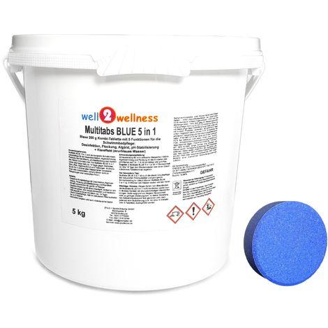 Pool Multitabs 200g BLUE 5in1 5,0 kg