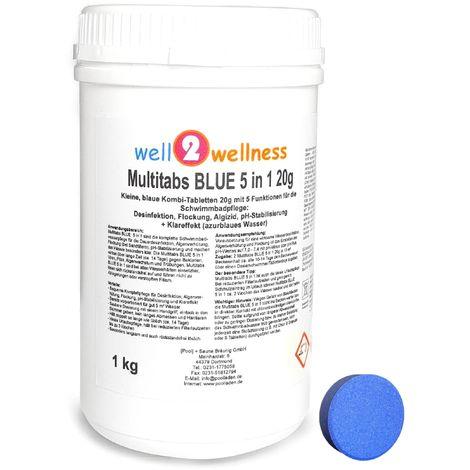 Pool Multitabs 20g BLUE 5in1 1,0 kg