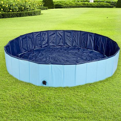Vasche Da Giardino Plastica.Pool Piscina Vasca In Plastica Per Cane Cani Animali Domestici