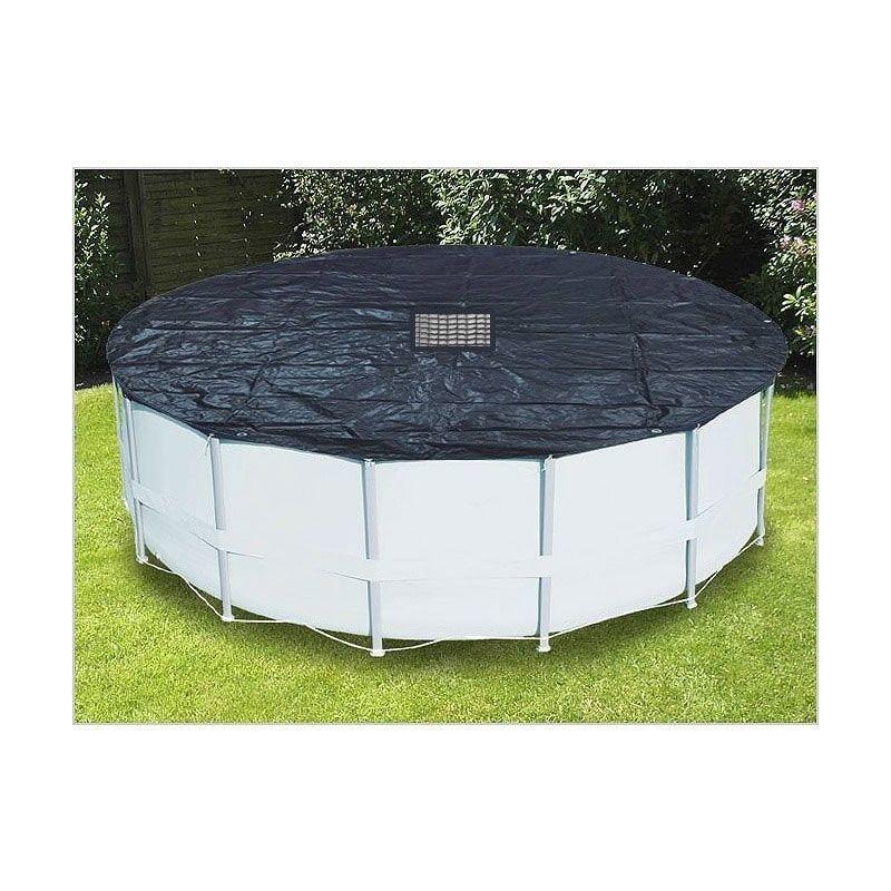 Pool Plane rund Ø 5,2 m für runde Schwimm Becken Winte Abdeckung Abdeckplane