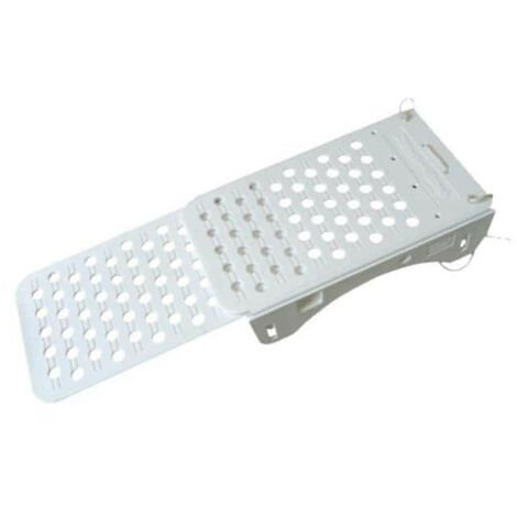 Pool ramp for dogs - white