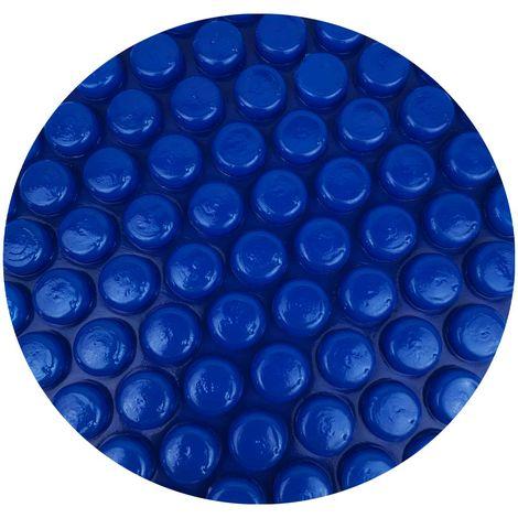 Pool Solarfolie blau oval 550 x 370 cm