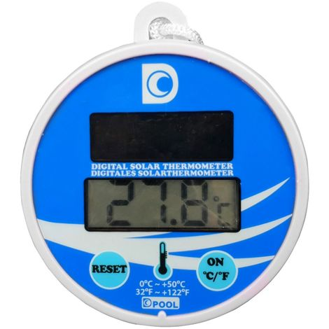 Pool Thermometer Solar digitale Anzeige