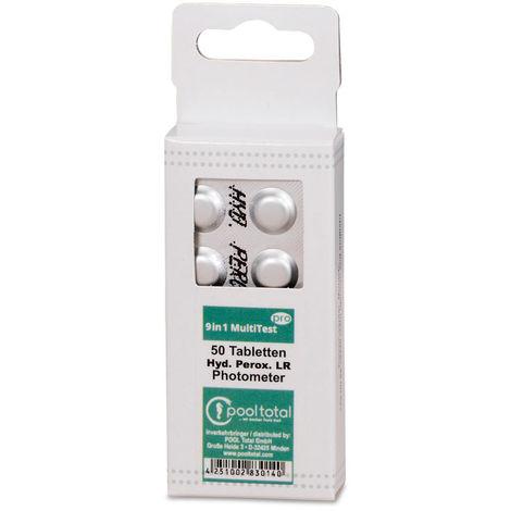 POOL Total 50 Testtabl. Wasserstoffperoxid 0 - 200 mg/l