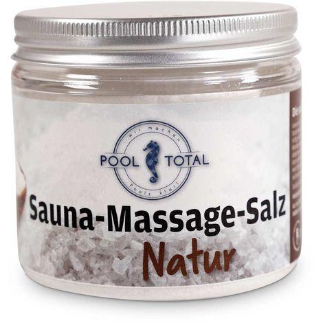 POOL Total Sauna Massage Salz Natur 200g
