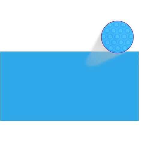 Poolabdeckung Blau 488×244 cm PE
