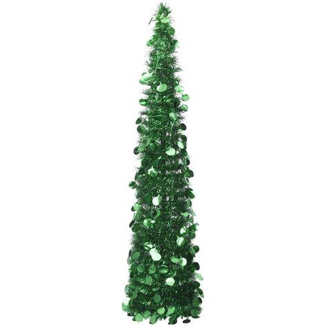 Pop-up Artificial Christmas Tree Green 180 cm PET