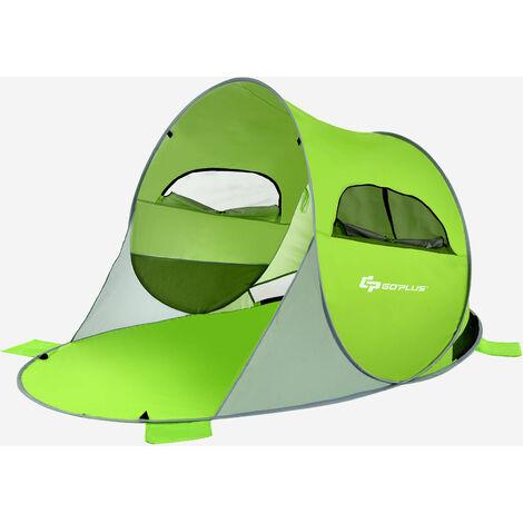 Pop up Beach Tent Portable Outdoor Shade UV Sun Protection UPF 50+ Waterproof