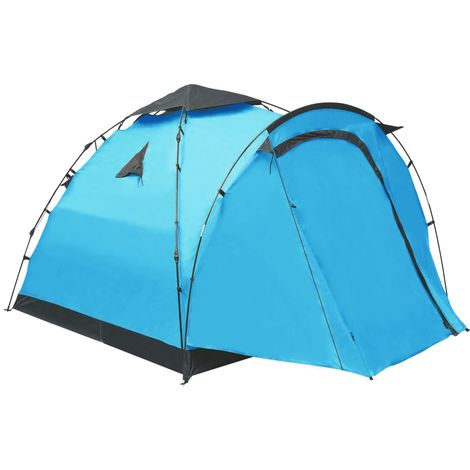 Pop Up Camping Tent 3 Person Blue