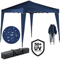 Pop-up Gazebo 3 x 3 Meter Deuba Capri Garden Canopy Awning UV-Protection 50+ Colour Choice