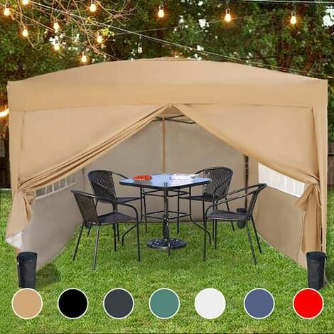 Pop Up Gazebo 3X3M Beige