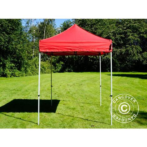 Pop up gazebo FleXtents Pop up canopy Folding tent Basic v.2, 2x2 m Red