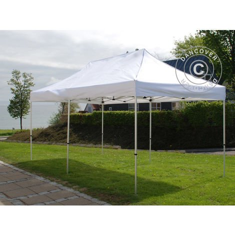 Pop up gazebo FleXtents Pop up canopy Folding tent PRO 2.5x5 m White
