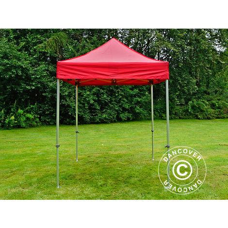 Pop up gazebo FleXtents Pop up canopy Folding tent PRO 2x2 m Red