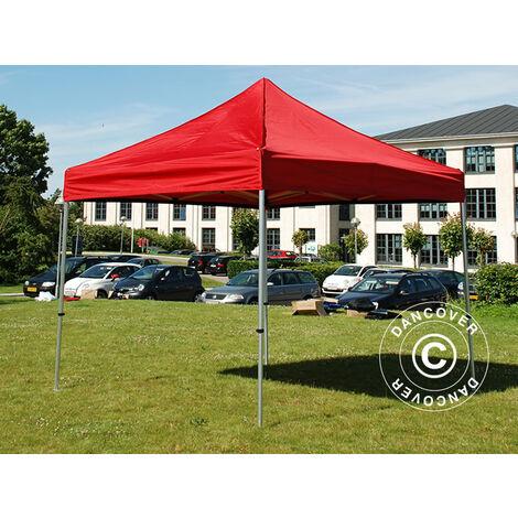 Pop up gazebo FleXtents Pop up canopy Folding tent PRO 3x3 m Red